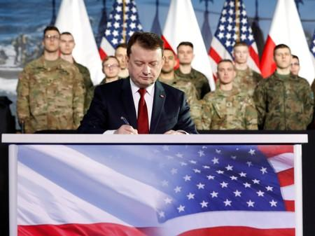 Warsaw, Washington agree on locations for new U.S. troops in Poland: minister