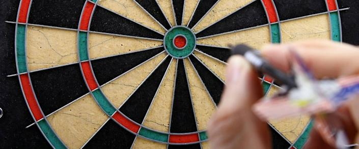 <cite>ronstik / Shutterstock</cite> <br>Picking stocks can be like throwing darts. You're not always going to hit it.<br>