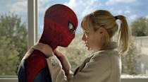 """Andrew Garfield and Emma Stone in in Columbia Pictures' """"The Amazing Spider-Man"""" - 2012"""