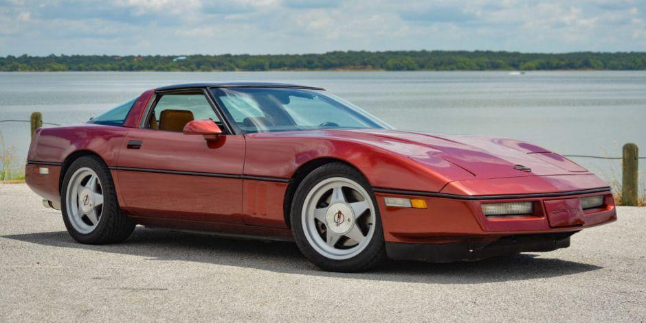 1988 Chevrolet Corvette C4 Callaway Twin-Turbo Four-Speed Is
