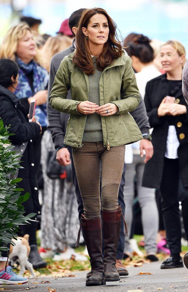 Kate Middleton in Oct. 2018