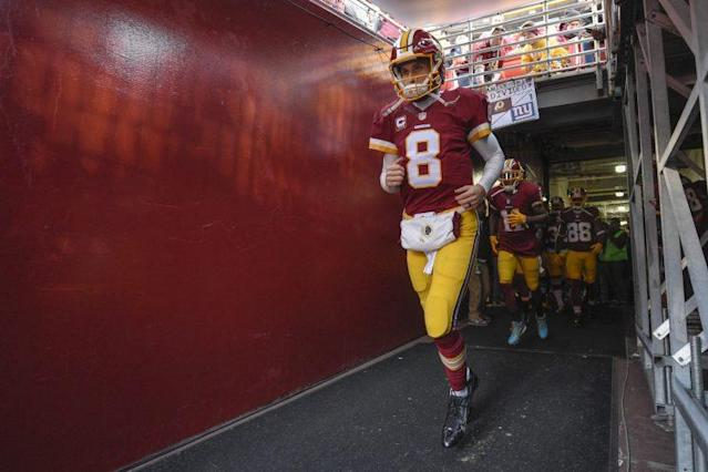 Kirk Cousins reportedly asked Washington owner Dan Snyder to trade him. (AP)