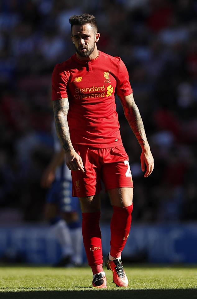 Britain Football Soccer - Wigan Athletic v Liverpool - Pre Season Friendly - DW Stadium - 17/7/16 Liverpool's Danny Ings  Action Images via Reuters / Lee Smith Livepic EDITORIAL USE ONLY.