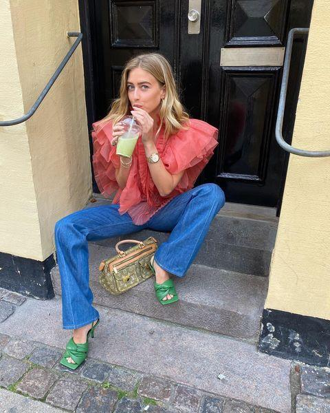 "<p>Emili's luxe outfits will have you scrolling endlessly through all her pics. She lives in Copenhagen and loves herself some standout pieces. </p><p><a href=""https://www.instagram.com/p/CFxXiVAB243/"" rel=""nofollow noopener"" target=""_blank"" data-ylk=""slk:See the original post on Instagram"" class=""link rapid-noclick-resp"">See the original post on Instagram</a></p>"