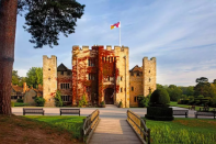 "<p>Surrounded by glorious Kent countryside, <a href=""https://go.redirectingat.com?id=127X1599956&url=https%3A%2F%2Fwww.booking.com%2Fhotel%2Fgb%2Fhever-castle.en-gb.html%3Faid%3D1922306%26label%3Dstaycation-uk&sref=https%3A%2F%2Fwww.goodhousekeeping.com%2Fuk%2Flifestyle%2Ftravel%2Fg34842793%2Fstaycation-uk%2F"" rel=""nofollow noopener"" target=""_blank"" data-ylk=""slk:Hever Castle"" class=""link rapid-noclick-resp"">Hever Castle</a>'s B&B offers 28 luxury bedrooms in the Astor Wing and the Anne Boleyn Wing, both Edwardian Wings, designed in Tudor style.</p><p>If you're looking for a regal staycation with quirky yet luxurious character, this is one place worth checking out.</p><p>The Astor Wing offers a beautifully panelled lounge with deep sofas and a selection of <a href=""https://www.goodhousekeeping.com/uk/lifestyle/travel/g32723457/travel-books/"" rel=""nofollow noopener"" target=""_blank"" data-ylk=""slk:books"" class=""link rapid-noclick-resp"">books</a> and magazines for guests to relax with during their stay. There's also a rather splendid Billiards Room to be discovered.</p><p>The Anne Boleyn Wing enjoys its own beautiful Breakfast Room which is flooded with natural daylight and offers window seats looking out across the orchard to the Castle. </p><p><a href=""https://www.goodhousekeepingholidays.com/offers/kent-edenbridge-hever-castle-hotel"" rel=""nofollow noopener"" target=""_blank"" data-ylk=""slk:Read our hotel review of Hever Castle here"" class=""link rapid-noclick-resp"">Read our hotel review of Hever Castle here</a></p><p><a class=""link rapid-noclick-resp"" href=""https://go.redirectingat.com?id=127X1599956&url=https%3A%2F%2Fwww.booking.com%2Fhotel%2Fgb%2Fhever-castle.en-gb.html%3Faid%3D1922306%26label%3Dstaycation-uk&sref=https%3A%2F%2Fwww.goodhousekeeping.com%2Fuk%2Flifestyle%2Ftravel%2Fg34842793%2Fstaycation-uk%2F"" rel=""nofollow noopener"" target=""_blank"" data-ylk=""slk:CHECK AVAILABILITY"">CHECK AVAILABILITY</a></p>"