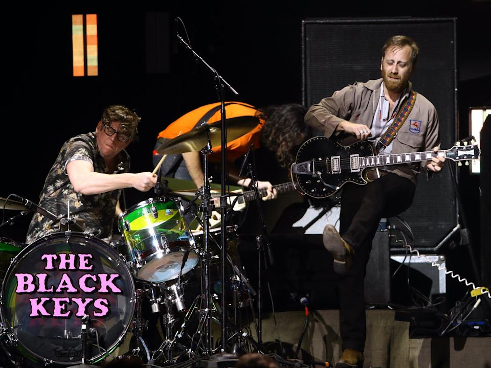 Delta force: The Black Keys performing live in 2020Getty for iHeartMedia