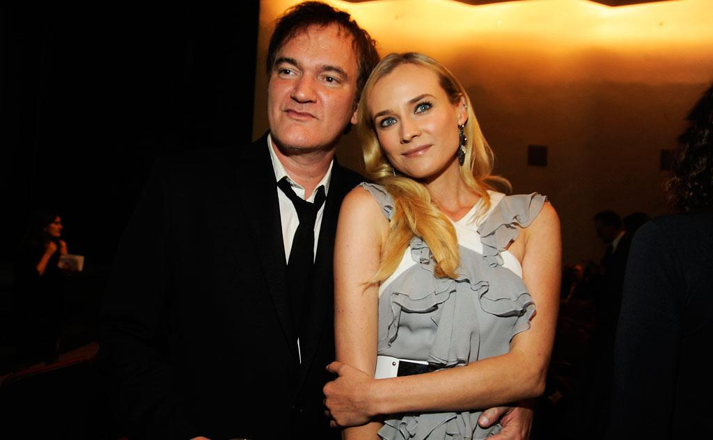 Quentin Tarantino and Diane Kruger attend The Museum of Modern Art 5th annual Film Benefit honoring Quentin Tarantino at MOMA on December 3, 2012 in New York City.
