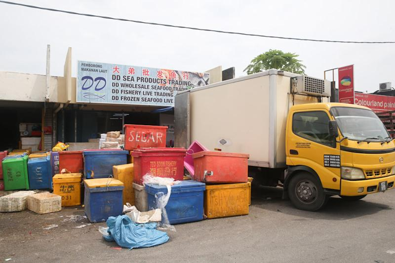 DD Sea Products Trading is where all the fish is cleaned, vacuum-packed and frozen. — Picture by Choo Choy May