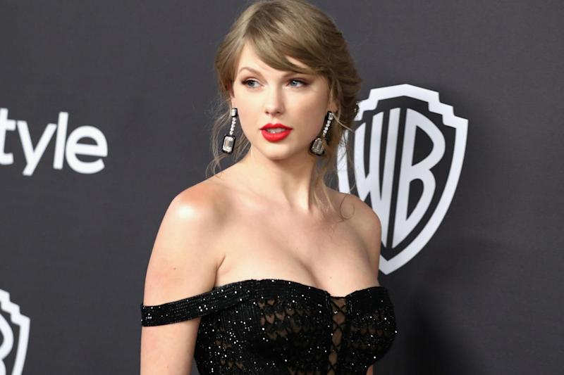 Taylor Swift attends the InStyle And Warner Bros. Golden Globes After Party 2019 at The Beverly Hilton Hotel on 6 January, 2019 in Beverly Hills, California: Getty