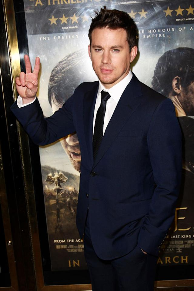 """Channing Tatum turns 31 Dave Hogan/Mission Pictures/<a href=""""http://www.gettyimages.com/"""" target=""""new"""">GettyImages.com</a> - March 9, 2011"""