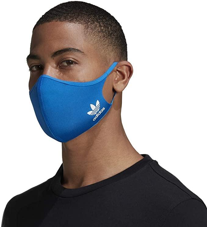Adidas Face Masks are available in a three pack for just $20 on Amazon.