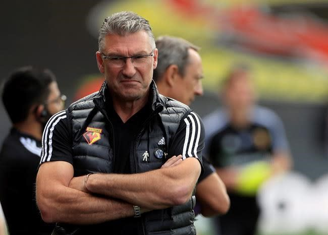Watford fires Nigel Pearson with 2 Premier League games left