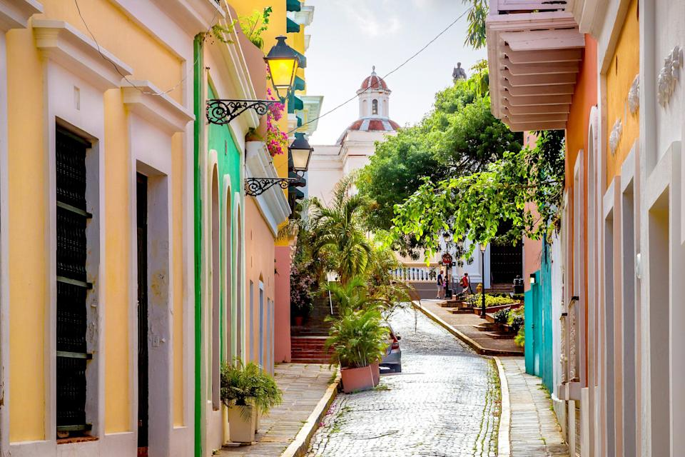 "<p><strong>Best thing to do in Puerto Rico:</strong> Explore Old San Juan </p> <p>More than a year after Hurricane Maria made landfall, <a href=""https://www.cntraveler.com/gallery/19-best-places-to-go-in-2019?mbid=synd_yahoo_rss"" rel=""nofollow noopener"" target=""_blank"" data-ylk=""slk:Puerto Rico"" class=""link rapid-noclick-resp"">Puerto Rico</a> has not only recovered—it's been reborn. You can find world-class beaches all over the island, but PR is perfect for architecture lovers as well: Old San Juan remains one of the best-preserved examples of Spanish Colonial architecture in the Caribbean, with brightly painted buildings and cobblestone streets that have inspired a thousand Instagram shots. When you're ready to take a break from the streets, stop by <a href=""https://www.cntraveler.com/bars/san-juan/la-factoria?mbid=synd_yahoo_rss"" rel=""nofollow noopener"" target=""_blank"" data-ylk=""slk:La Factoría"" class=""link rapid-noclick-resp"">La Factoría</a> for a perfectly crafted cocktail in a speakeasy setting. The signature drink, the Lavender Mule—a mix of vodka, ginger beer, and homemade lavender infusion—is the perfect way to transition from afternoon sightseeing to a night out.</p>"