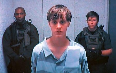 Dylann Storm Roof appears by closed-circuit television at his bond hearing in Charleston, South Carolina in this file photo taken from video June 19, 2015.   REUTERS/POOL/Files