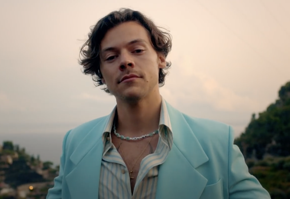 <p>Harry Styles</p> (Columbia/YouTube)