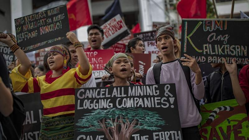 Filipinos Rally In Manila For Global Climate Strike