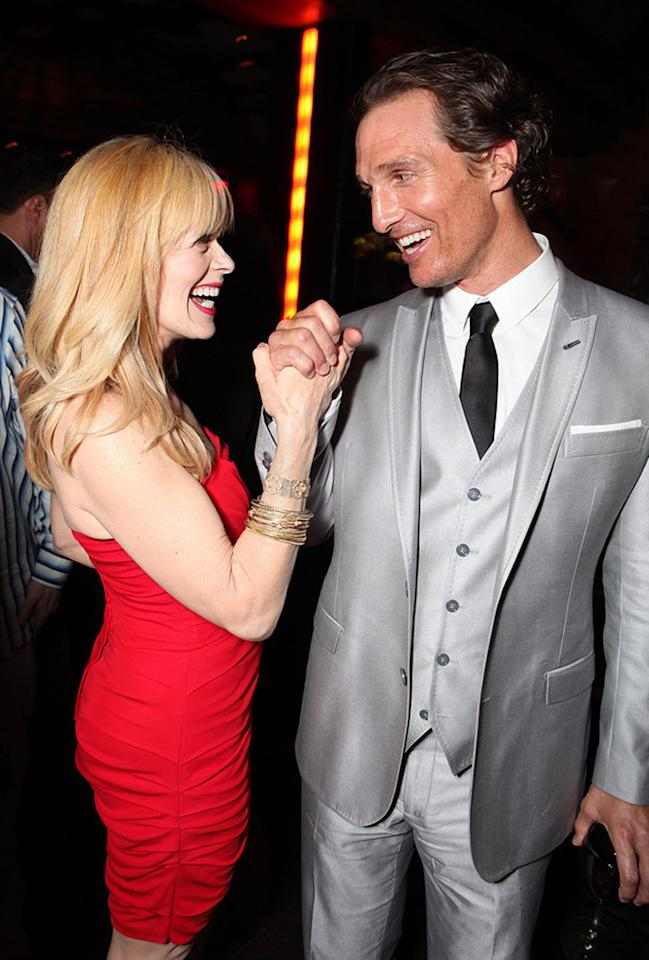 """<a href=""""http://movies.yahoo.com/movie/contributor/1800019503"""">Frances Fisher</a> and <a href=""""http://movies.yahoo.com/movie/contributor/1800018907"""">Matthew McConaughey</a> at the Los Angeles premiere of <a href=""""http://movies.yahoo.com/movie/1810088161/info"""">The Lincoln Lawyer</a> on March 10, 2011."""