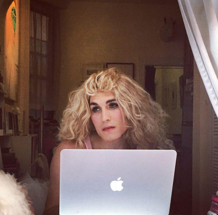 Carrie Dragshaw wondering about NYFW