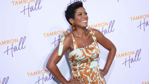 PHOTO:Tamron Hall arrives to Soho House in Beverly Hills for the ABC All-Star Party and Interview Opportunity, Aug. 5, 2019. (Troy Harvey/ABC via Getty Images)