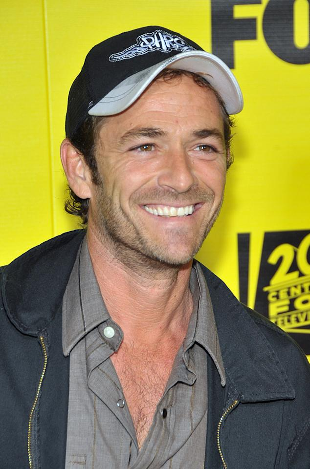 "October 11: Luke Perry turns 45 Dr. Billy Ingram/<a href=""http://www.wireimage.com"" target=""new"">WireImage.com</a> - October 18, 2009"