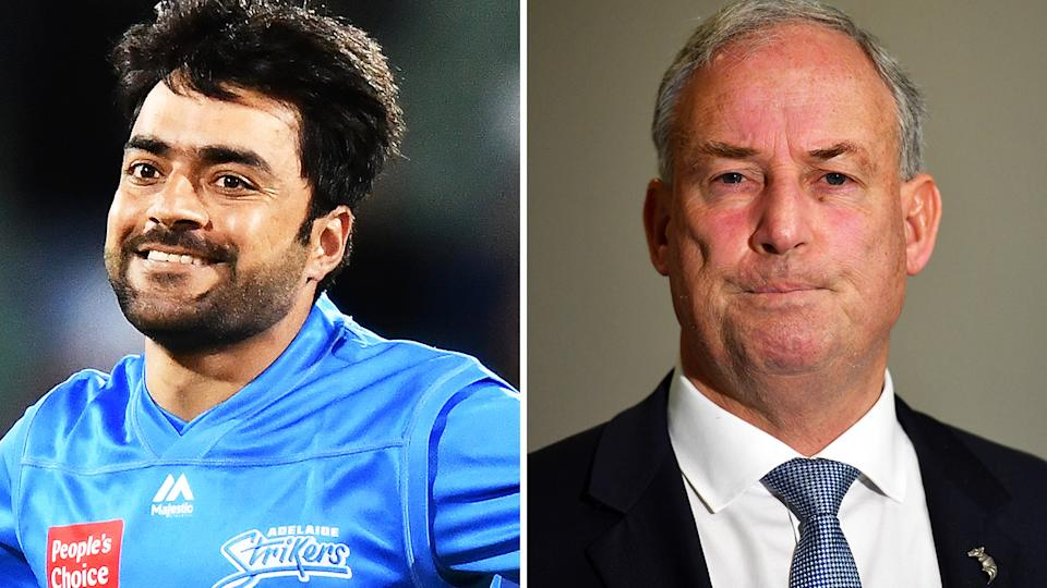 Afghan cricket star Rashid Khan may not play against Australia with the historic Test between the two nations in doubt after the Taliban's return to power.
