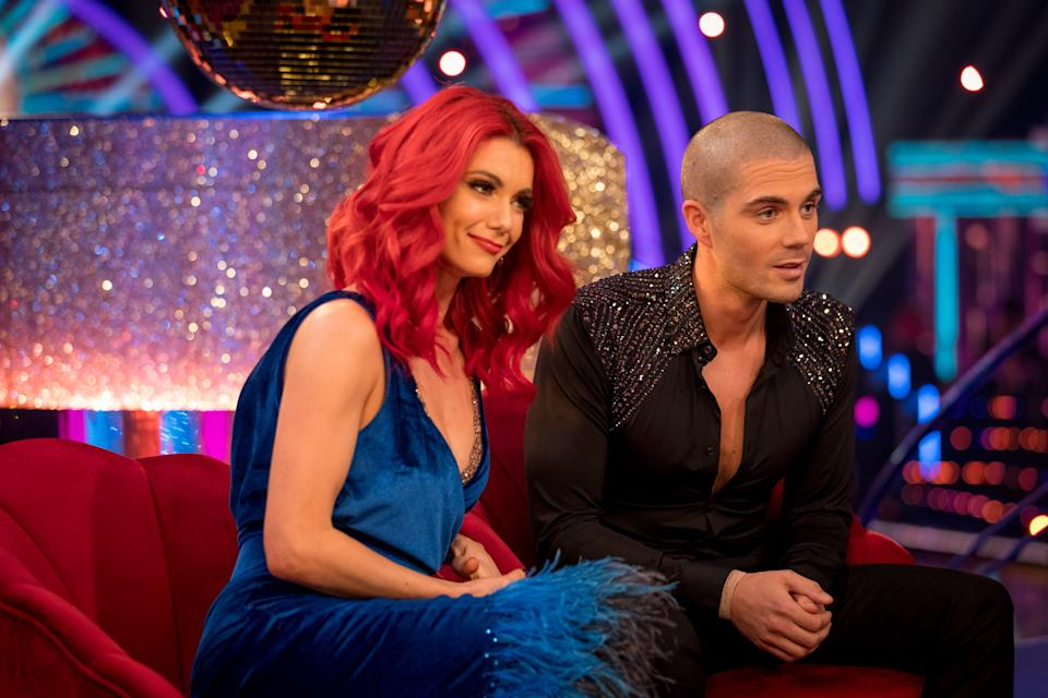 Picture Shows:  Max George, Dianne Buswell - (C) BBC - Photographer: Guy Levy