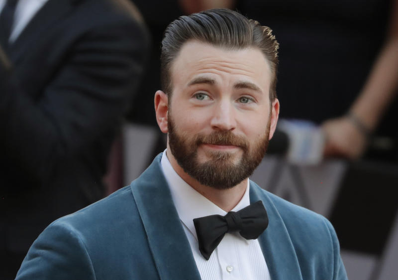 91st Academy Awards - Oscars Arrivals - Red Carpet - Hollywood, Los Angeles, California, U.S., February 24, 2019. Actor Chris Evans. REUTERS/Lucas Jackson