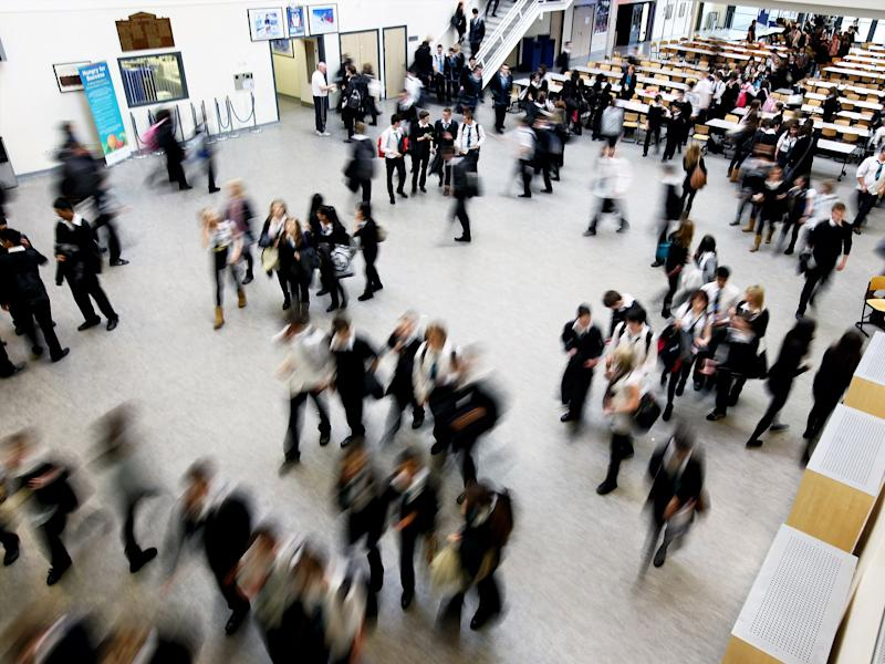 Teenagers in secondary schools with a greater mix of ethnicities tend to have warmer feelings towards people from other races: Getty