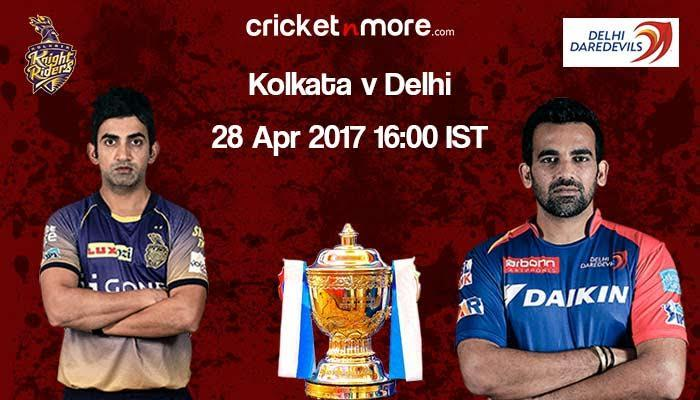 IPL 10: Struggling Delhi Daredevils have mountain to climb against red-hot KKR