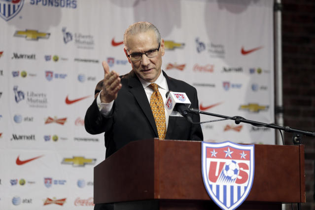 United States Soccer Federation Secretary General Dan Flynn is the subject of criticism from many U.S. Soccer employees. (AP)
