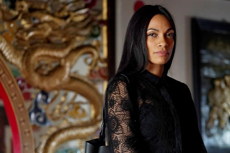 Rosario Dawson relishes being the lead on new TV drama