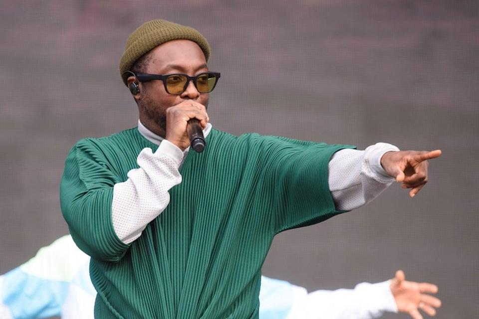 Will.i.am performing during the British Summer Time festival (Matt Crossick/PA)
