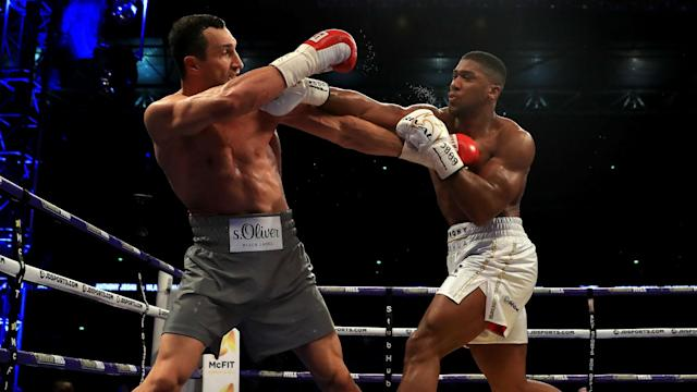 A crowd of 90,000 witnessed the world heavyweight title fight that saw Anthony Joshua defeat Wladimir Klitschko on Saturday.