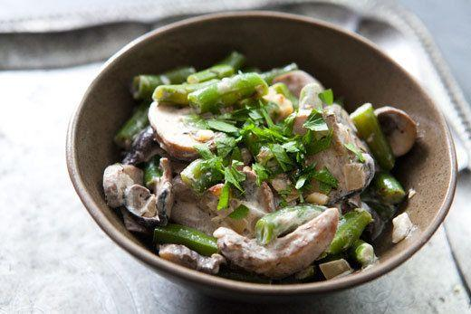 "<strong>Get the <a href=""http://www.simplyrecipes.com/recipes/creamy_green_beans_and_mushrooms/"">Creamy Green Beans and Mushrooms recipe from Simply Recipes</a></strong>"