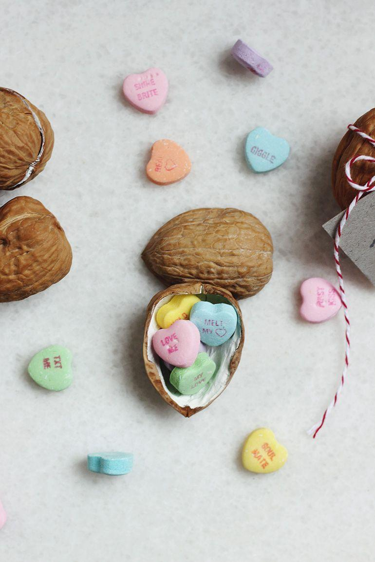 "<p>Show the special someone in your life that you're nuts about them with these cute DIY cards attached to candy heart-filled walnuts. You can even sand and paint the inside for an extra cute touch. </p><p><strong>See more at <a href=""https://themerrythought.com/diy/im-nuts-about-you-walnut-valentine/"" rel=""nofollow noopener"" target=""_blank"" data-ylk=""slk:The Merrythought"" class=""link rapid-noclick-resp"">The Merrythought</a>. </strong></p><p><a class=""link rapid-noclick-resp"" href=""https://go.redirectingat.com?id=74968X1596630&url=https%3A%2F%2Fwww.walmart.com%2Fip%2FDiamond-of-California-Jumbo-Walnuts-16-Oz%2F20854681&sref=https%3A%2F%2Fwww.thepioneerwoman.com%2Fhome-lifestyle%2Fcrafts-diy%2Fg35084525%2Fdiy-valentines-day-cards%2F"" rel=""nofollow noopener"" target=""_blank"" data-ylk=""slk:SHOP WALNUTS"">SHOP WALNUTS</a></p>"