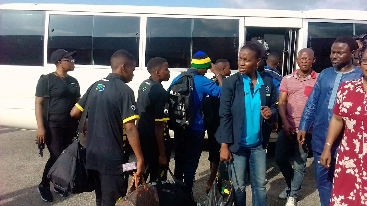 The east African are now in Edo state for Saturday's World Cup qualifier against the Falconets