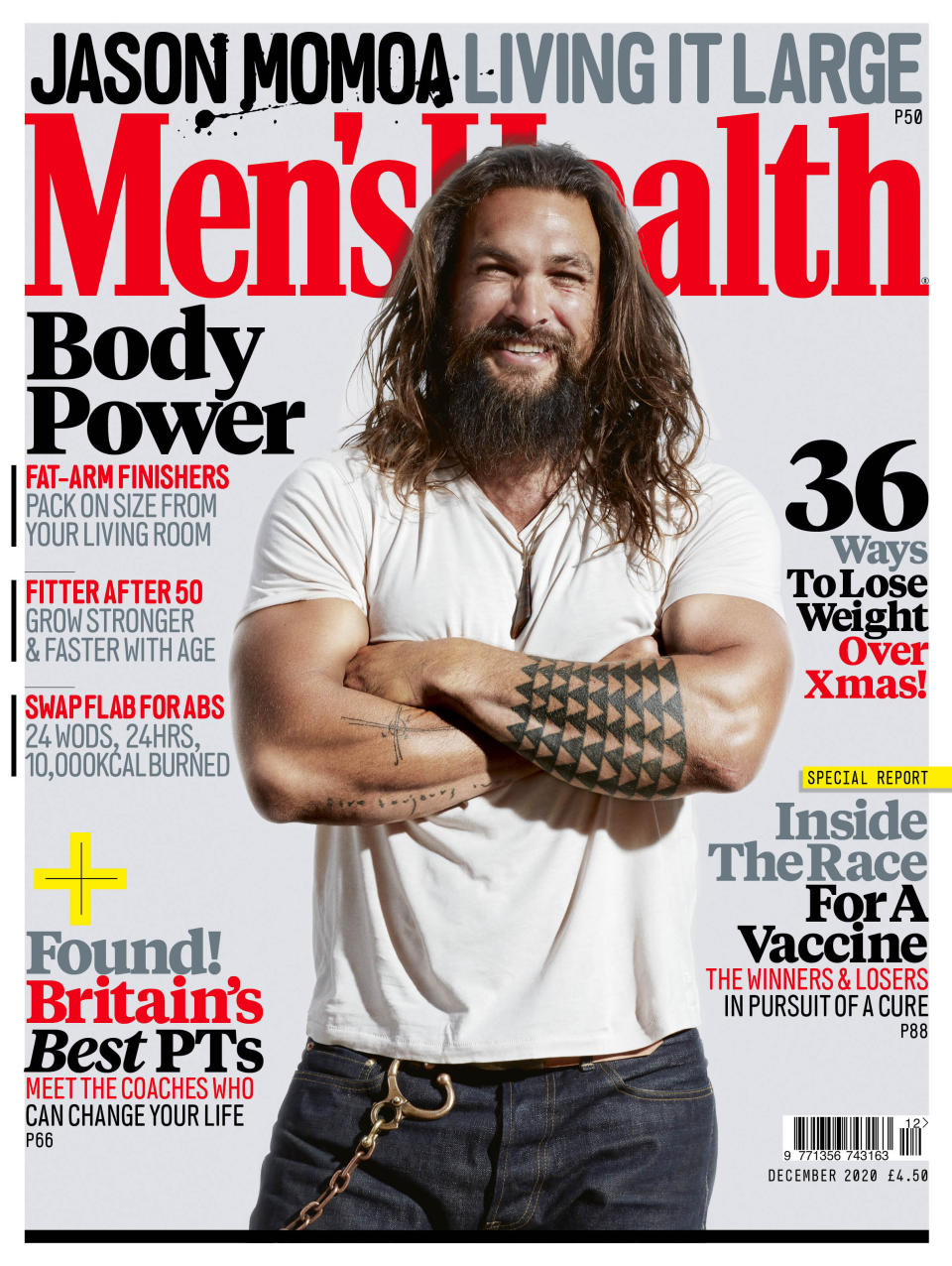 Men's Health cover (Men's Health/Ture Lillegraven/PA)