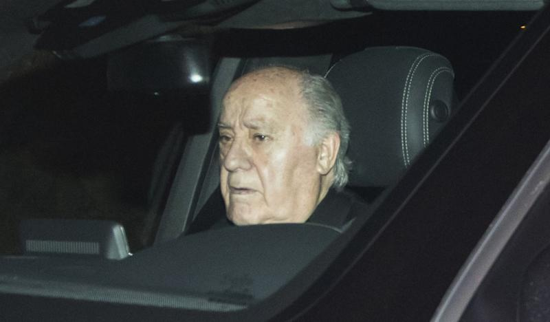 ARTEIXO, SPAIN - NOVEMBER 17: Amancio Ortega attend the Marta Ortega and Carlos Torretta's wedding party at Casas Novas Horse Club on November 17, 2018 in Arteixo, Spain. (Photo by Europa Press/Europa Press via Getty Images)