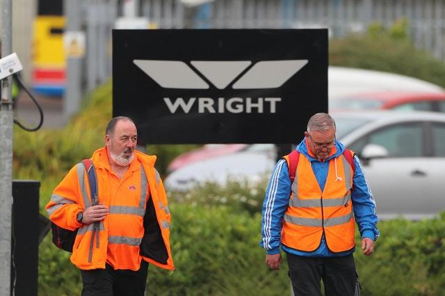Wrightbus administration fears