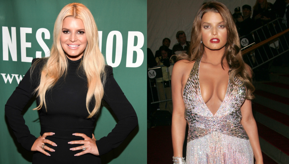 Jessica Simpson hit back at comments about her 2007 Met Gala look by a former Vogue creative director. (Images via Getty Images).
