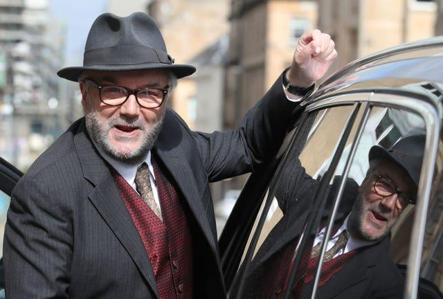 George Galloway is standing in Batley and Spen