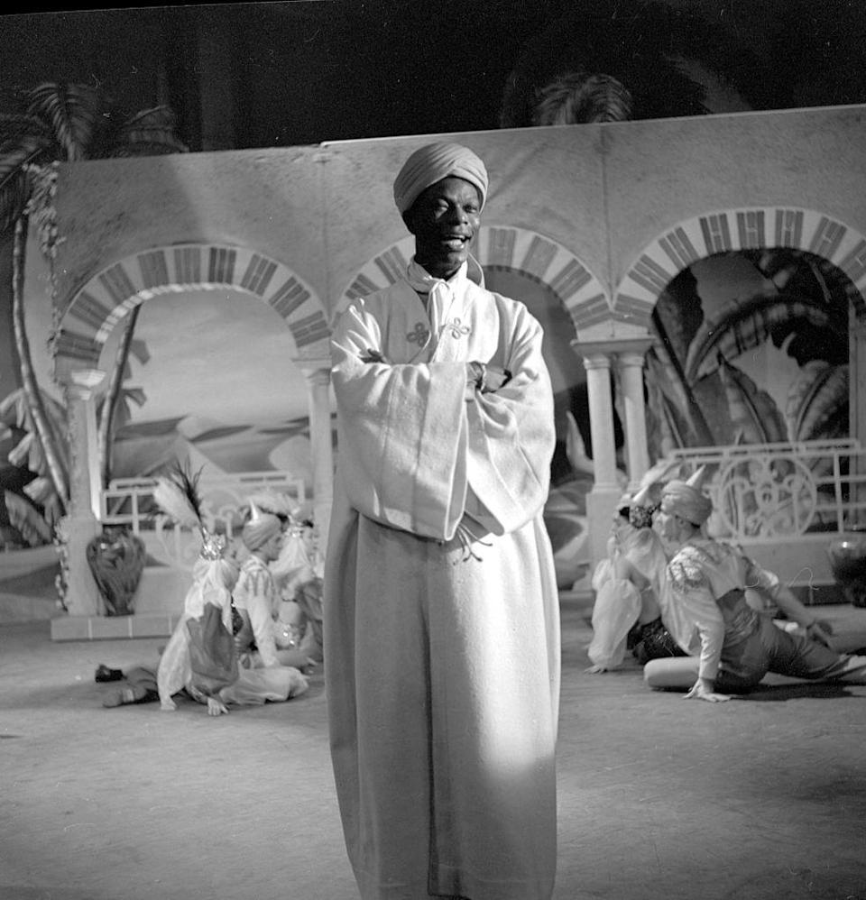 <p>Nat King Cole was regular guest on <em>The Ed Sullivan Show</em>, appearing 13 times during the show's run. One of his most memorable appearances, though, was on the show's Halloween episode in 1954.</p>