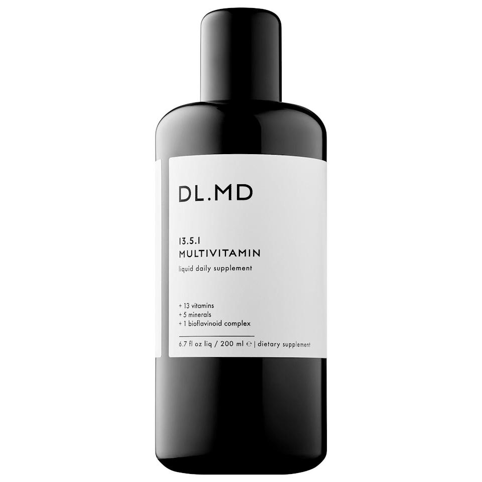 """<p><strong>DL.MD</strong></p><p>sephora.com</p><p><strong>$45.00</strong></p><p><a href=""""https://go.redirectingat.com?id=74968X1596630&url=https%3A%2F%2Fwww.sephora.com%2Fproduct%2Fliquid-multi-vitamin-supplement-P447205&sref=https%3A%2F%2Fwww.bestproducts.com%2Fbeauty%2Fg912%2Fhair-growth-products-supplements%2F"""" rel=""""nofollow noopener"""" target=""""_blank"""" data-ylk=""""slk:Shop Now"""" class=""""link rapid-noclick-resp"""">Shop Now</a></p><p>Taking chalky vitamins is now a thing of the past, thanks to this liquified formula. It contains vitamins C, E, and biotin to promote hair, skin, and nail health. But it also stands out from the rest for its tasty berry flavor and ability to be absorbed at a higher rate than most vitamins due to its liquid format.</p>"""