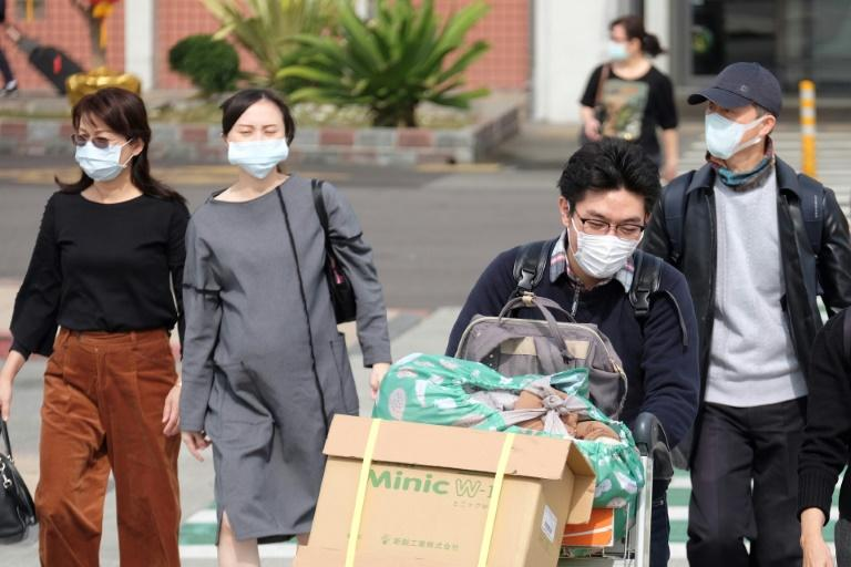Taiwan has reported its first case of the new virus (AFP Photo/Sam Yeh)