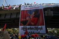Mya Thwate Thwate Khaing has become a symbol of the protest movement