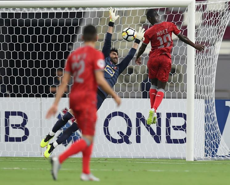 Qatari forward Almoez Ali headed Al Duhail's winner against Persepolis