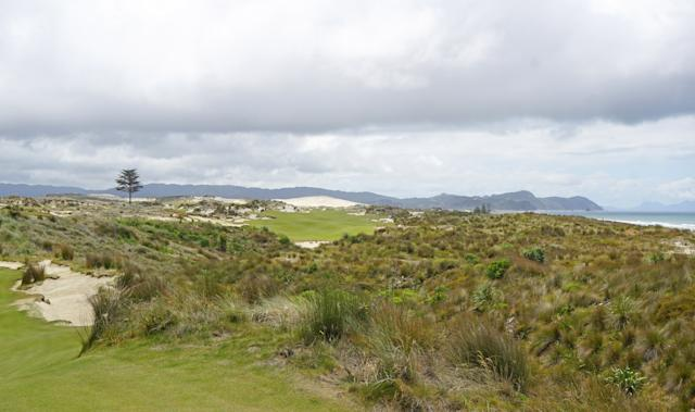 "<div class=""caption""> A look at the 461-yard par-4 sixth hole from the championship tees </div>"