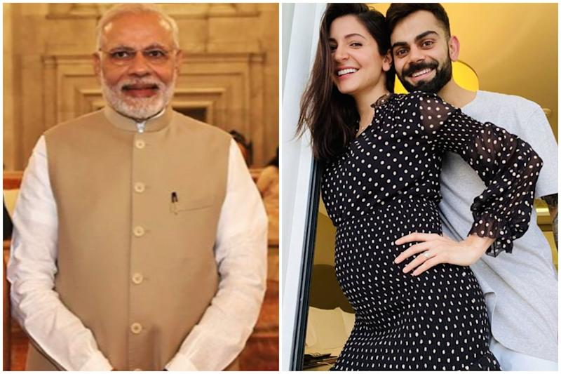 In Response to Birthday Wish, PM Narendra Modi Congratulates Virat Kohli and Anushka Sharma on Pregnancy