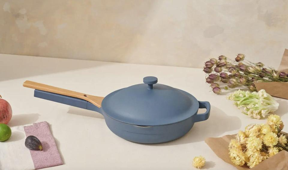 """<p>The popular <span>Our Place Always Pan Set</span> ($145) is an <a href=""""https://www.popsugar.com/smart-living/our-place-always-pan-review-47587094"""" class=""""link rapid-noclick-resp"""" rel=""""nofollow noopener"""" target=""""_blank"""" data-ylk=""""slk:editor-favorite"""">editor-favorite</a>, that customers just love. If they're into cooking, we think it'll make the perfect present.</p>"""