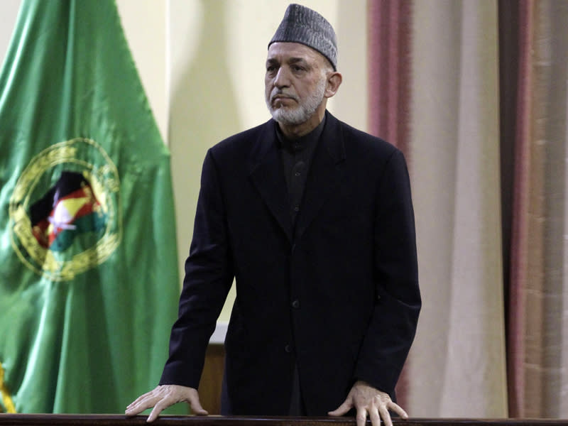 Afghans don't need foreign troops: Karzai